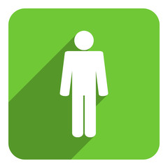 male gender flat icon