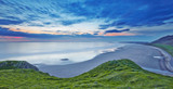 Fototapety Rhossili bay panorama