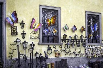 Modern art souvenir exposition color image