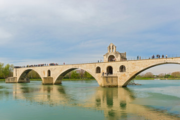 St. Benezet bridge in Avignon, France