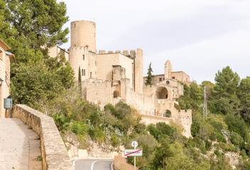 Castle of Castellet near Barcelona, Spain