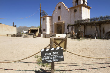 Western Movie Set