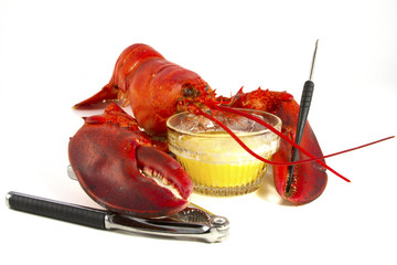 Whole Lobster with Butter