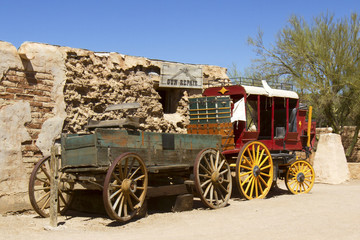 Wild West Wagons