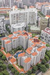 Luxury Condominiums Aerial View