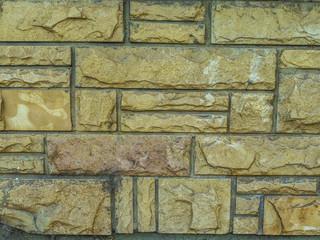 Textura de pared. Piedra mar del plata.