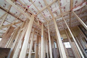 木造住宅 断熱材 イメージ