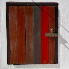 Small-Squared window shutter