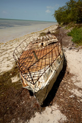 Cuban refugee raft