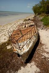 Cuban refugee raft