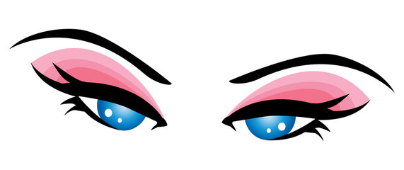 Beautiful eye- close-up