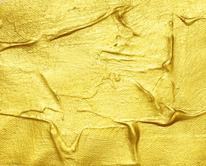 gold acrylic textured painting background