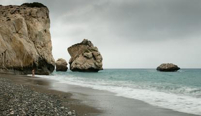 Rocks of Aphrodite, Paphos, Cyprus