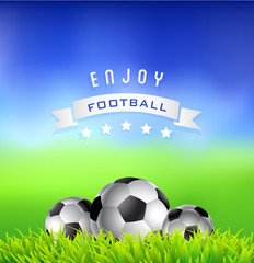 Enjoy  Football Time Background