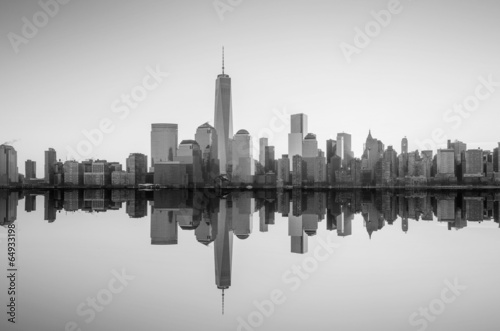 Widok Manhattan i budynek One World Trade Centre