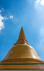 Phra Pathom Chedi is the tallest stupa in the world with the hei