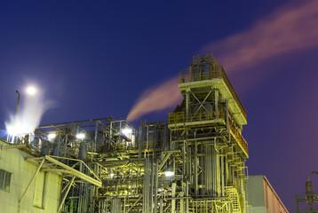 工業地帯夜景(京浜工業地帯)