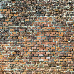 harmonic red brick wall