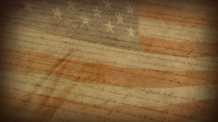The Bill of Rights - motion background