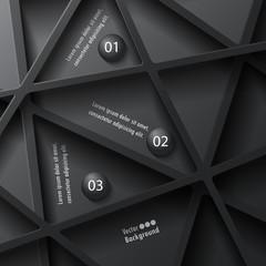 Abstract stylish infographics