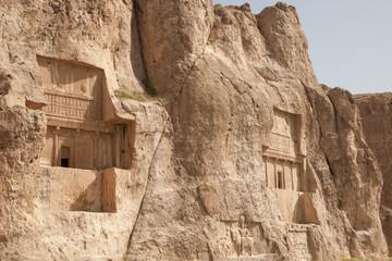 Achaemenid necropolis at Naqsh e-Rustam