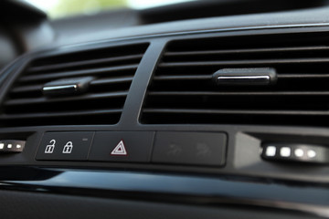 Details of Car emergency button and air conditioning