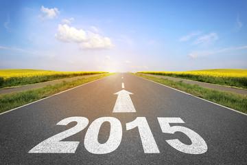 """Straße mit """"2015"""""""