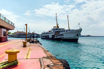 Ferry near by Kadikoy Pier
