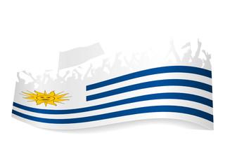 Public Viewing Schild - Uruguay
