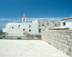 Greek orthodox church of st John in  Akko (Acre), Israel