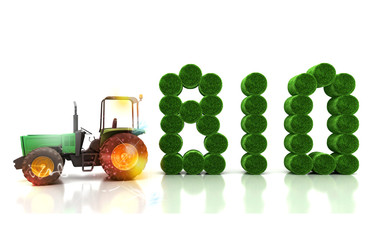 Alimentari biologici, fattoria, coltivazioni