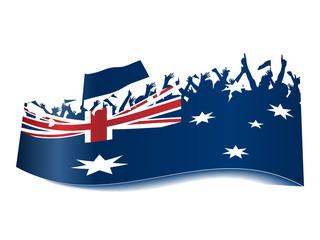 Public Viewing Schild - Australien