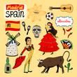 Landmarks and icons of Spain - 64941127