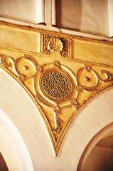 Santa María la Blanca, Toledo, España, sinagoga, yesería