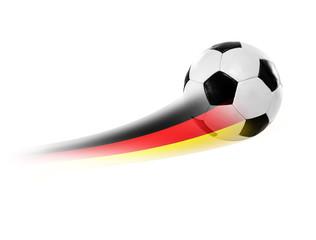 Fußball Schwarz-Rot- Gold