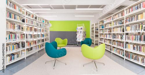 Zdjęcia na płótnie, fototapety, obrazy : Biblioteca