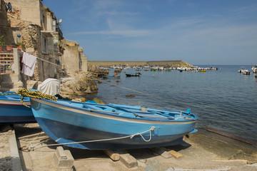 Barca sul porto di Scilla, Reggio Calabria