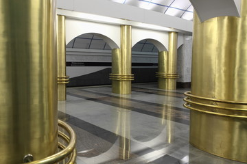 interior subway station