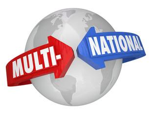 Multi-National Company International Business Trade Corporation