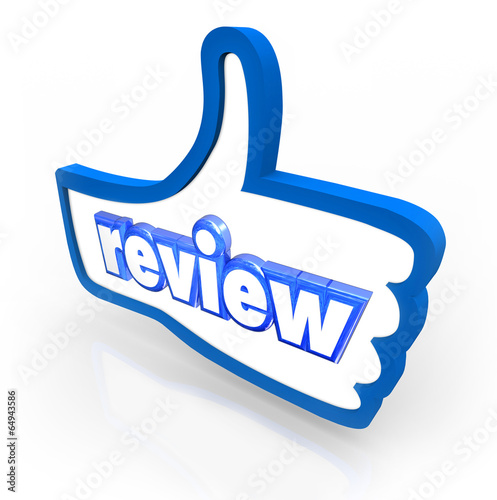 Review Word Thumbs Up Comment Rating Customer Feedback