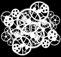 white gear