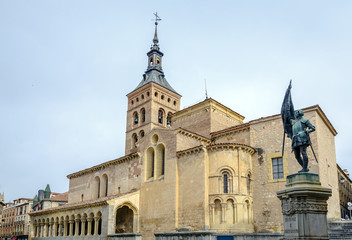 Church of St. Martin Segovia