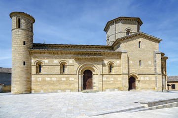 Romanesque style in Fromista, Palencia