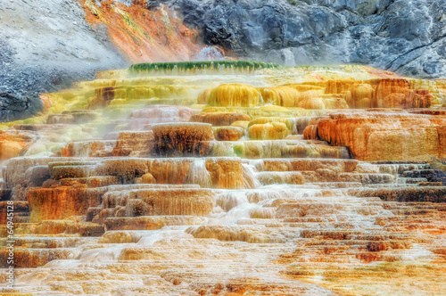 Foto op Plexiglas Canyon Yellowstone