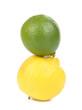 Fresh lime and lemon.