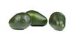 Three avocados.