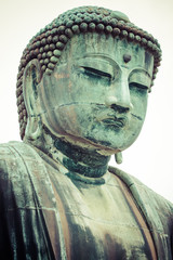 The Great Buddha (Daibutsu) of Kotokuin Temple,Kamakura,Japan