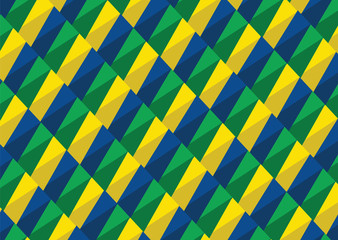 Abstract background Brazil flag concept idea design