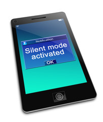 Silent mode concept.