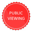 Schild public viewing